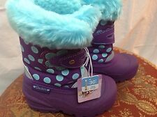 Skechers Girls Lil Frost Snow Stompers Slip-On Boots Toddler 6 7 8 9 10 $95 New