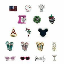 FLOATING CHARMS FITS ORIGAMI OWL LOCKETS
