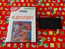 Sega Master System Alien Storm - Boxed, Tested, Free Postage