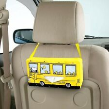 PEANUTS SNOOPY Car Seat Tissue Box  Case  Kitchen Cover Drive from Japan e2364