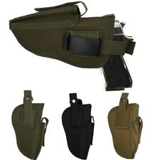 Right & Left Hand Tactical Pistol Holster Molle Magazine Waist Belt Gun Holster