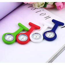 Mini Portable Silicone Gel Doctor Nurses Brooch Pin Pocket Fob Tunic Watch HC