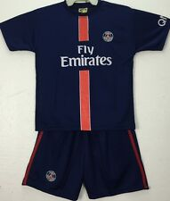 Paris Saint Germain PSG Soccer Set Jersey Toddler Kids Top 6 Months-2 Years Old