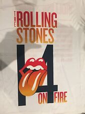 The Rolling Stones - 14 On Fire Australian Tour Shirt Official Merchandise