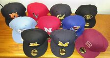 New Era 59Fifty NCAA College Football Baseball Diamond Hat Cap Adult Fitted Size