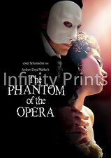 The Phantom of the opera Movie Film Poster A A2 A3 A4