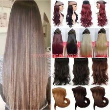 Real Thick 1pcs Clip in 3/4 Full Head Hair Extensions Extension as human hair n7
