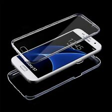 New Clear TPU Shockproof 360° Full Body Protective Case Cover For Samsung Galaxy