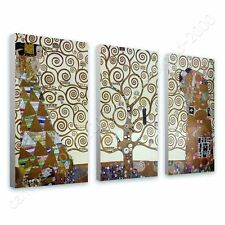 CANVAS +GIFT Tree Of Life Gustav Klimt 3 Panels Posters Painting Paintings