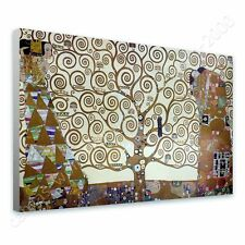 CANVAS +GIFT Tree Of Life Gray Gustav Klimt Pictures Wall Decor Painting