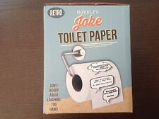 JOKE TOILET PAPER LOO ROLL CRAP JOKES FUNNY NOVELTY GIFT SECRET SANTA IDEA