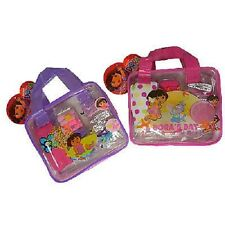 BRAND NEW DORA HAIR ACCESSORIES BAG SET IN ZIP BAG PINK AND PURPLE