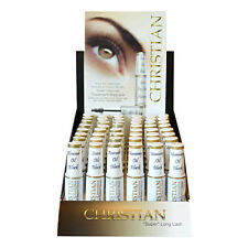 Christian Cosmetics Super Long Lash Treatment Mascara Oil Black Waterproof