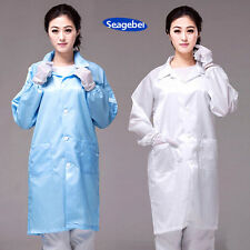 Seagebel Unisex ESD-Safe Econoshield Anti-static LAB Smock Clothes Coat Jacket