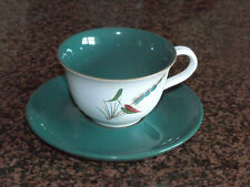 Denby Stoneware Greenwheat Cup & Saucer