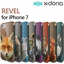 X-doria REVEL Fitted Hard Case Shell for Apple iPhone 7 with Screen Protector US