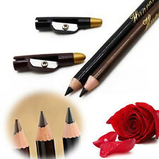 2pcs Lady Waterproof Eyebrow Eye Liner Pencil Pen Eyeliner Makeup Tools Pop Sale