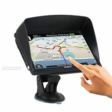 "XGODY 7""8GB HD Multimedia Player Car GPS Navigation Bluetooth AV-IN Sunshade"