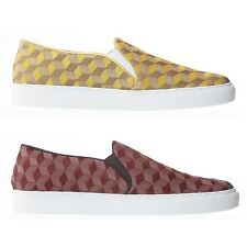 New Men Suede Leather Casual Fashion Sneakers Loafers Slip-on Flats Yellow Shoes