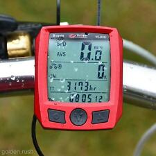 Multi-Function Cycling Bicycle Bike LCD Computer Odometer Speedometer Backlight