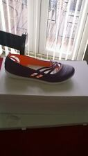 BNWT LADIES ADIDAS JELLIES/PUMPS IN COLOUR PURPLE REDUCED TO JUST £9.99