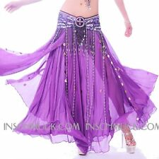 C235 Belly Dancing Costume Skirt with Slices Fashing Belly Dancing
