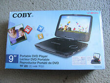 """Brand New Coby V-ZON TFDVD9109 Portable 9"""" DVD/CD/MP3 Player with Remote Control"""