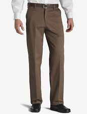 Dockers D4 Mens Pants True Chino Relaxed Fit Flat Front Brown size 32x30 NEW