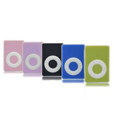 5Colors Mini Clip USB Digital Mp3 Music Player Support Up To 16GB SD TF Card New