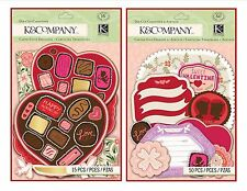K&Company CUPID COLLECTION Die-Cut Embellishments – CHOOSE ONE!!