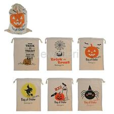 Trick or Treat Bags Halloween Candy Costume Party Pumpkin Bag Children Kids
