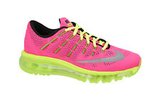 NIKE AIRMAX 2016 TRAINERS PINK SHOES AIRMAX BUBBLE SOLE NEW STYLES