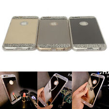 NEW Luxury Bling TPU Ultra-thin Mirror Metal Case Cover For IPhone 6 7 Plus