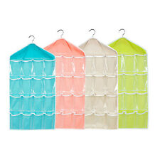 Creative 16 Pockets Hanging Wall Mounted Closet Storage Bags Organizer