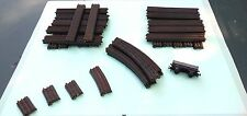 TTR TRIX TWIN RAILWAY TRACK VARIOUS + OPEN WAGON - Bakelite - 32 items