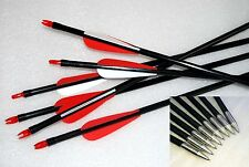 "28""29""30""31""Fiberglass Arrows Archery Hunting Target Practice Arrows lot"