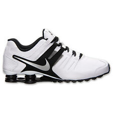 New Mens NIKE Shox Current White Black Silver Running Shoes 633631 100