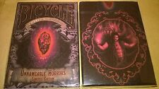 Bicycle Cthulhu Unnameable Horrors Limited Edition Playing Cards Deck New Sealed