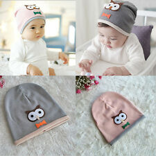 Unisex Cotton Owl Beanie New Born Baby Cap Children Soft Cap Toddler Kid Hat
