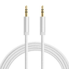 1M 3.5mm Male To Male Jack Audio Cable Cord For Car Stereo AUX Phone MP3 Pod Lot