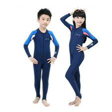 KIds Rash Guard Boys Girls Surfing Swimming Diving Suit Swimwear OnePiece