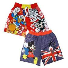 BOYS DISNEY MICKEY MOUSE OR DONALD DUCK BOARDSHORTS