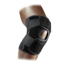 McDavid Multi Action Knee Support/Adjustable/Cross Straps Level 2 Black 4195R