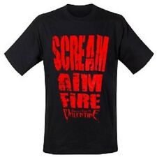 Official T Shirt BULLET FOR MY VALENTINE- SCREAM AIM FIRE Size M Black Mens New