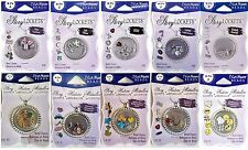 BLUE MOON BEADS Story Lockets Metal Charms - VARIOUS STYLES - Choose One!