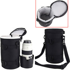 Camera Lens Protector Pouch Case Insert Bag Cover For Canon Sony Nikon DSLR New