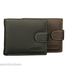 BAELLERRY New Male Wallets Genuine Leather Hasp Coin Pocket Purse Card Holder
