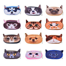 Fashion Soft Plush Pencil Pen Case Novelty Makeup Cosmetic Pouch Bag Zipper JB