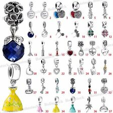 European 925 Sterling Pendant Dangle Silver Charms Bead for Bracelet Chain US1