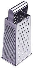 Progressive Stainless Steel 4 side Cheese Grater Potato/Chocolate/ParmesanNEW. H